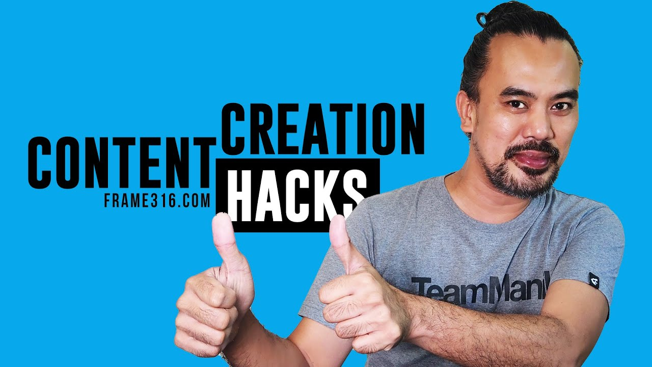 Content Creation Hacks (3 Simple Rules to Save Time and Be Productive)