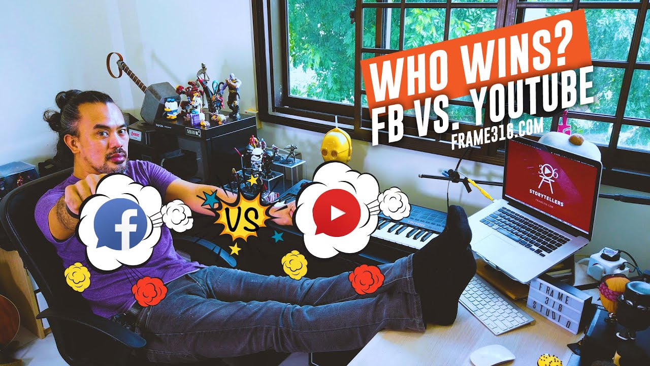 Posting Videos on YouTube Versus Facebook, Which is Better?